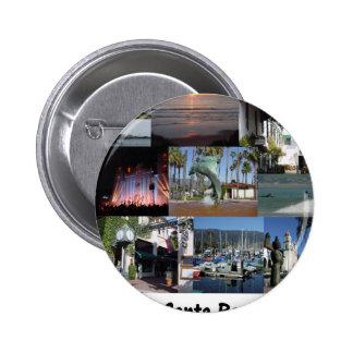 amo Santa Barbara .png Pin Redondo 5 Cm