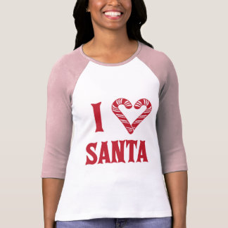 Amo Santa Camisas