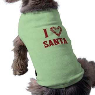 Amo Santa Camisetas Mascota