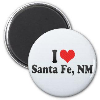 Amo Santa Fe, nanómetro Iman De Frigorífico