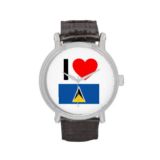 amo Santa Lucía Relojes De Mano