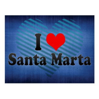 Amo Santa Marta, Colombia Postales