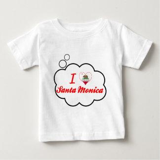 Amo Santa Mónica, California Camiseta