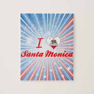 Amo Santa Mónica California Puzzle