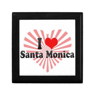 Amo Santa Mónica Estados Unidos Caja De Joyas
