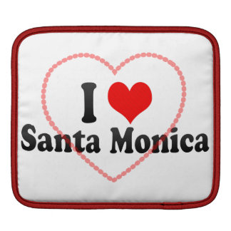 Amo Santa Mónica Estados Unidos Mangas De iPad