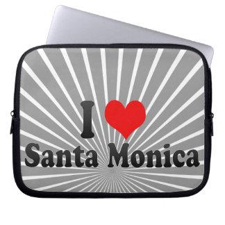 Amo Santa Mónica Estados Unidos Mangas Computadora