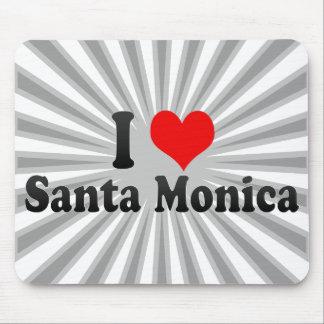 Amo Santa Mónica Estados Unidos Tapete De Raton