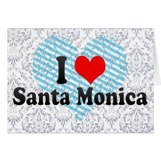 Amo Santa Mónica Estados Unidos Tarjetas