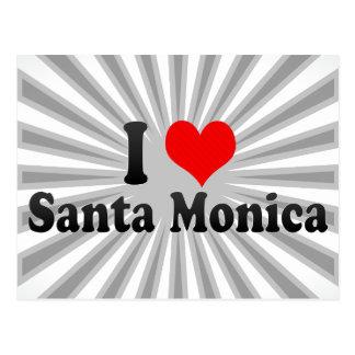 Amo Santa Mónica Estados Unidos Postales