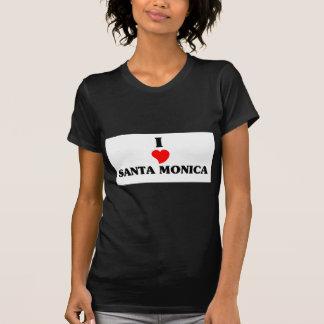 Amo Santa Mónica Playeras