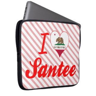 Amo Santee, California Funda Portátil