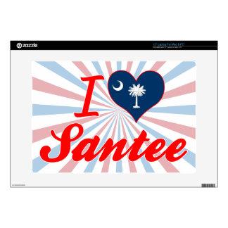 Amo Santee, Carolina del Sur Portátil Calcomanía