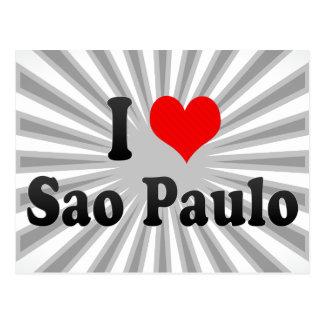Amo Sao Paulo, el Brasil Postal