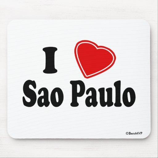 Amo Sao Paulo Mouse Pads