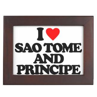 AMO SAO TOME AND PRINCIPE CAJAS DE RECUERDOS