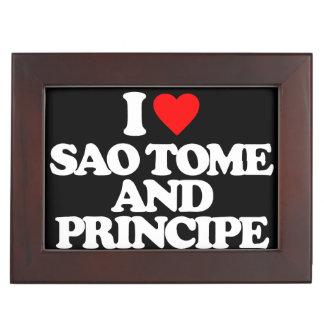 AMO SAO TOME AND PRINCIPE CAJA DE RECUERDOS