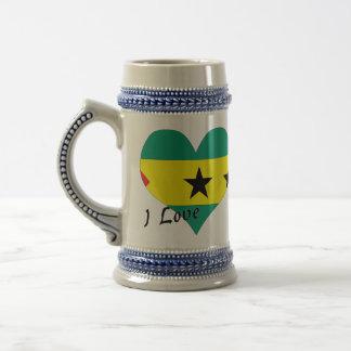 Amo Sao Tome and Principe Jarra De Cerveza