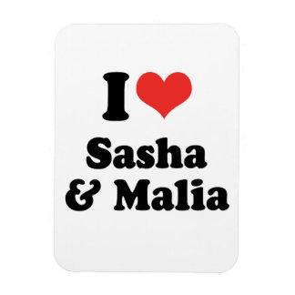 AMO SASHA Y MALIA - .PNG IMAN