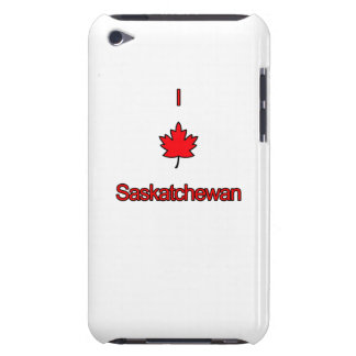 Amo Saskatchewan Barely There iPod Fundas