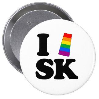AMO SASKATCHEWAN GAY - .PNG PIN REDONDO 10 CM