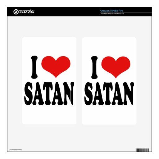 Amo Satan Pegatinas Skins Para Kindle Fire