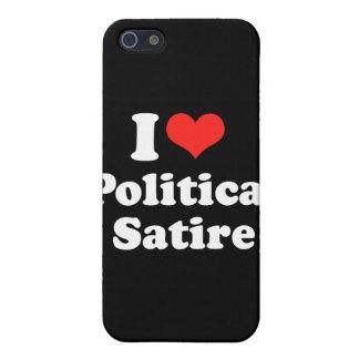 AMO SATIRE png POLÍTICO iPhone 5 Cárcasas