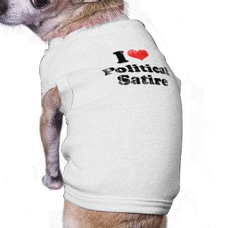 AMO SATIRE png POLÍTICO Ropa Para Mascota