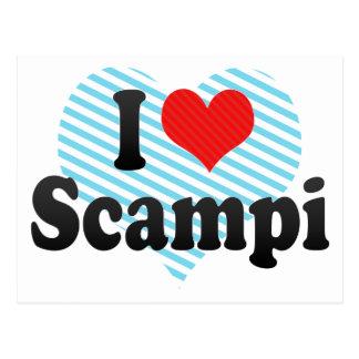 Amo Scampi Postales