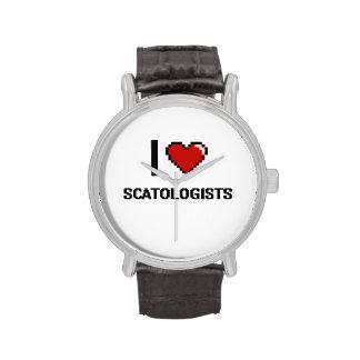 Amo Scatologists Reloj De Mano