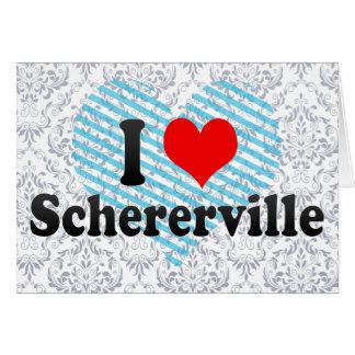 Amo Schererville, Estados Unidos Tarjeta