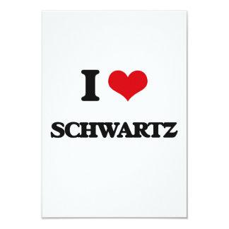 Amo Schwartz Invitación 8,9 X 12,7 Cm