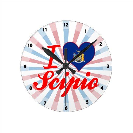 Amo Scipio, Nueva York Relojes