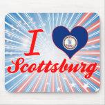 Amo Scottsburg, Virginia Alfombrilla De Raton