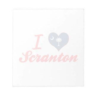 Amo Scranton, Carolina del Sur Bloc De Notas
