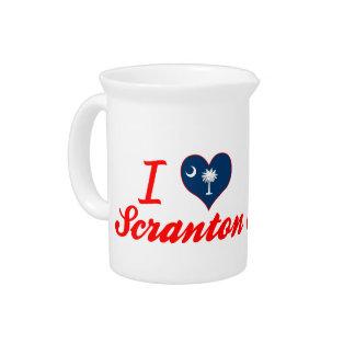 Amo Scranton, Carolina del Sur Jarras De Beber