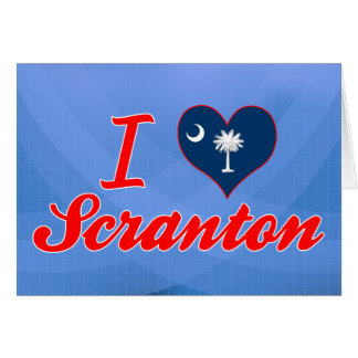 Amo Scranton, Carolina del Sur Tarjetas