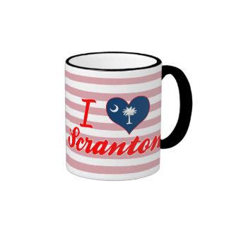 Amo Scranton, Carolina del Sur Taza