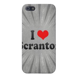Amo Scranton, Estados Unidos iPhone 5 Protectores