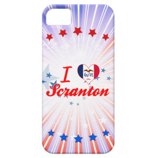 Amo Scranton, Iowa iPhone 5 Case-Mate Coberturas