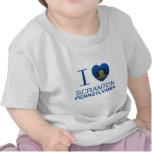 Amo Scranton, PA Camisetas