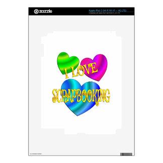 Amo Scrapbooking iPad 3 Pegatina Skin