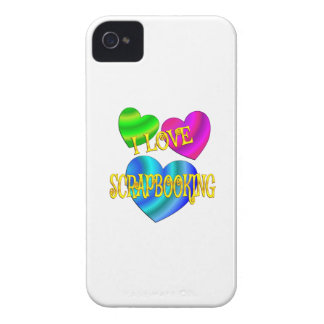 Amo Scrapbooking iPhone 4 Case-Mate Cárcasa