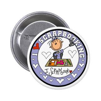 Amo Scrapbooking Pin