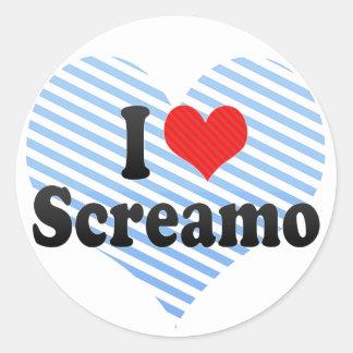 Amo Screamo Etiqueta
