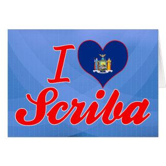 Amo Scriba, Nueva York Tarjeta