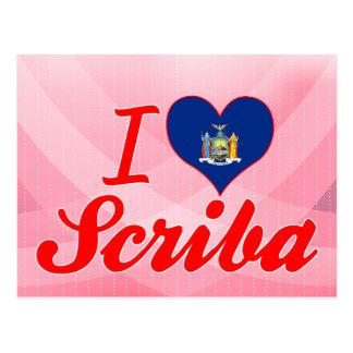 Amo Scriba, Nueva York Tarjeta Postal