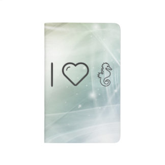 Amo Seahorses Cuaderno
