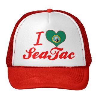 Amo SeaTac, Washington Gorras De Camionero