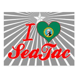 Amo SeaTac, Washington Tarjetas Postales